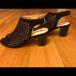 Unisa black bootie sandals